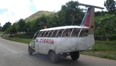 Transporte público en Cuba, hoy.