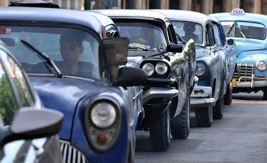 Parque automotor en Cuba, hoy.