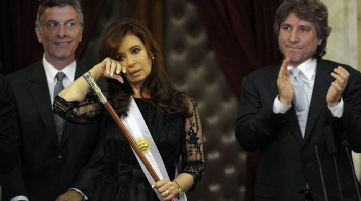 Asunción Mauricio Macri 2015